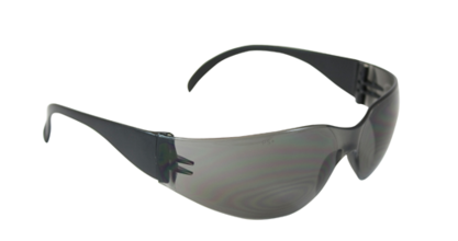 Bouton Zenon Z12 Safety Glasses w/Gray Lens & Black Frame