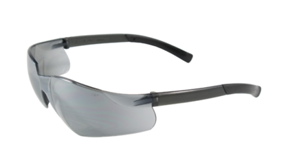 Bouton Zenon Z13 Safety Glasses w/Silver Lens & Black Frame