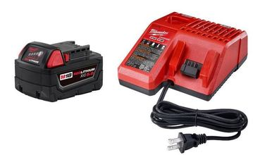Milwaukee M18 18-Volt Lithium-Ion XC Starter Kit from Carter-Waters