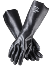 "Procoat Supported PVC Lined 18"" Smooth Finish Gloves"