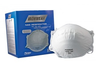 ABE 1505 1505 Disposable N95 Niosh Approved Respirator Face Mask 20/box fro