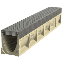 ACO 74001 ACO K1-1 Sloped K-100 KlassikDrain  from Carter-Waters