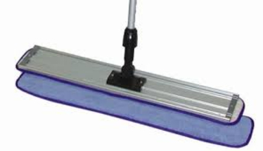 "ACS MF1800 18"" Microfiber Flat Mop Frame Pad from Carter-Waters"