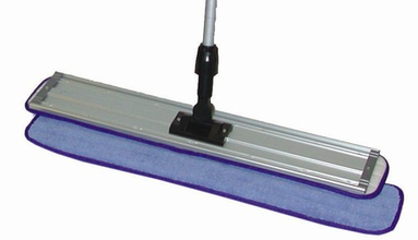 "ACS MF2400 24"" Microfiber Flat Mop Frame Pad from Carter-Waters"