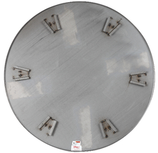 Allen 4' Float Pan 5 Blade for Trowel Machine from Carter-Waters