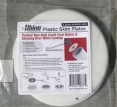 ALB 1031-G01 Albion 2 Gallon Pail Skim Plate Use With 33-10 Loading Sleeve