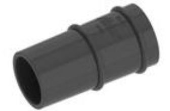 "ALB 33-10 Albion Loading Sleeve Flexible Rubber for 2"" Barrel Guns from Car"
