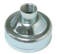 "ALB 426-G01 Albion 2"" Threaded Cap for Metal Nozzles from Carter-Waters"
