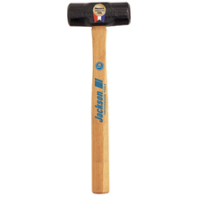 "AME 1196800 Jackson 3lb Engineer Hammer w/16"" Fiberglass Handle from Carter"