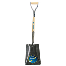 AME 1200900 J-450 Pony Square Point Shovel, Solid Shank, No-Step, & Armor D