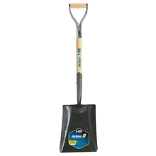 AME 1248800 J-450 Pony Square Point Shovel, Solid Shank & Armor D-grip from