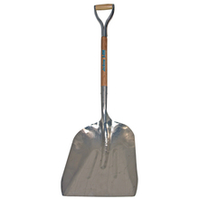 AME 1671200 J-250 Kodiak Aluminum Scoop Shovel w/Armor D-Grip from Carter-W