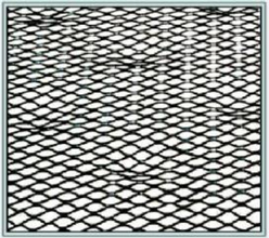 "AMI 10090351 2.5 Self-furring Galvanized Lath 27"" x 96"" from Carter-Waters"