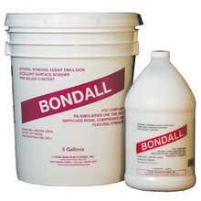BONDALL 5G Bondall Liquid Bonding Agent 5 Gallon  from Carter-Waters