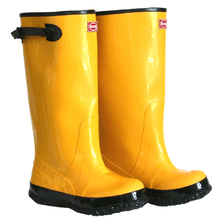 BOOT KNEE 13 OVER THE SHOE 2KP4481 YELLOW OVER THE SHOE SLOSH BOOTS SIZE 13
