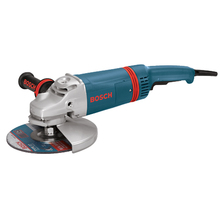 "Bosch 7"" Large Angle Grinder with Rat Tail Handle from Carter-Wa"