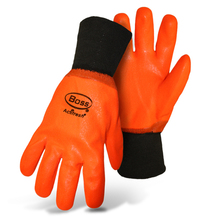 Boss Hot Hands Lined Rough Grip High-Vis Orange Actifresh Glov