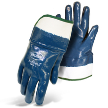 Boss Fully Coated Nitrile Lined Smooth Grip w/Actifresh Gloves