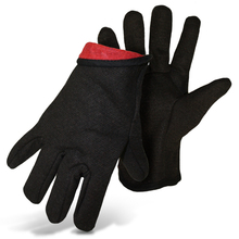 Boss Brown Jersey Red Fleece Lined Gloves from Carter-Waters