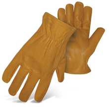 Boss Premium Grain Cowhide Leather Driver Gloves from Carter-Wat