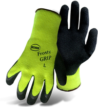 BOS 8439NXL XLARGE HI-VIZ PVC FROSTY GRIP GLOVE from Carter-Waters