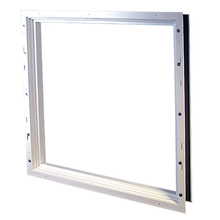 "8"" White Full Window Frame On Galvazied Easy Buck 3'0""x 1'4"""