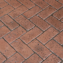 "BUT BST6606 FLEX Pennsylvania Avenue Herringbone Brick Flex Stamp 39"" x 26."