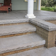 "Cantilevered Cut Stone Liner 8' x 2.1/2"" from Carter-Waters"