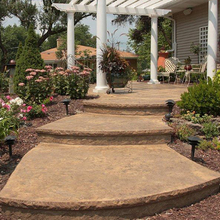 "Butterfield Color's 18"" Riser Stone Liner from Carter-Waters"