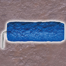"BUT BSTR0974 Coarse Stone 9"" Texture Roller Blue from Carter-Waters"