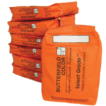 BUT SG02 Coral Select Grade Integral Concrete Color 11lb from Carter-Waters