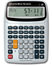 CAL 44080 Construction Master Pro Desktop Calculator from Carter-Waters