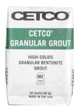CET BENTOGROUT Bentonite Grout 50lb Bag from Carter-Waters