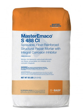 CHE 51671702 MasterEmaco S 488CI Sprayable, Structural Repair w/Integral In