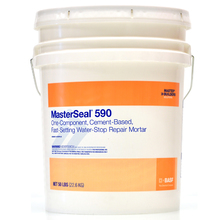 CHE 55396807 MasterSeal 590 Fast-Wetting Water-Stop Repair Mortar 10 Lb Can