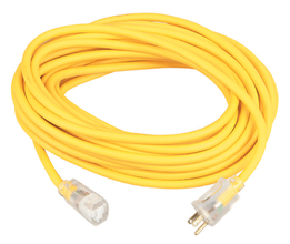 100'' Outdoor Extension 125V Cord 12/3
