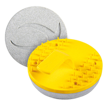 CON CY-MS2 Concria #2 Yellow Step Disc Mid Sleek Pads from Carter-Waters