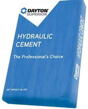 DAY 307979 Dayton Hydraulic Cement Repair 50lb from Carter-Waters