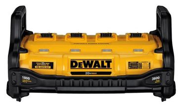 DeWalt 1800 Watt Portable Power Station and MAX Lithium-Ion Battery Charger