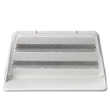 "DELIN 3X8 WHITE 3"" x 8"" Aluminum High Intensity White Delineators from Cart"