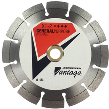 "DIA 0709UDUX1-2 Diamond Vantage 7"" Premium Dry S-GM Diamond Blade from Cart"