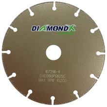 "DIA DXE0130P0605C Diamond Vantage 16"" x .050 x 7/8 Thin Cutting Wheel from"