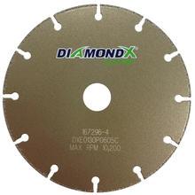 "DIA DXE0130P0706C Diamond Vantage 17"" x .060 x 7/8 Thin Cutting Wheel from"