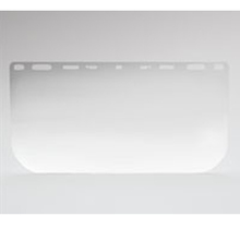 "ABE 3940-P04 8""x 15""x .040 Clear Polycarbonate Face Shield from Carter-Wate"