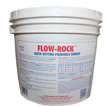 FLOW-ROCK 10# Flow-Rock Off-white 10LB Bucket Concrete Repair from Carter-W