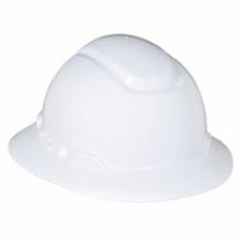 3M 65775 White Safari Hard Hat w/Full Brim from Carter-Waters