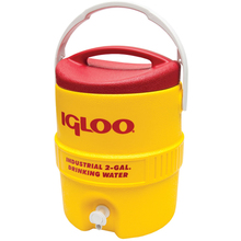 IGL 4101 Igloo 10 Gallon Industrial Red & Yellow Cooler  from Carter-Waters