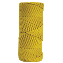 KRA BC345 Kraft Yellow Braided Mason's Line 1000'  from Carter-Waters