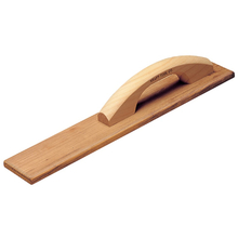 "Kraft Tool 18"" x 3-1/4"" Teakwood Hand Float from Carter-Waters"