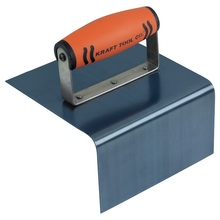 "KRA CF767PF Kraft 6"" x 6"" x 6"" 1/4"" R Blue Steel Outside Step Tool w/Soft H"